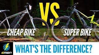 Cheap E- Bike Vs Super E-MTB | What's The Difference?