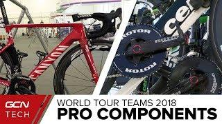 Which Components Do The Pros Use? | 2018 World Tour Cycling Tech