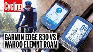 Garmin Edge 830 Vs Wahoo Elemnt Roam | Top Tier Cycling Computers Put to the Test | Cycling Weekly
