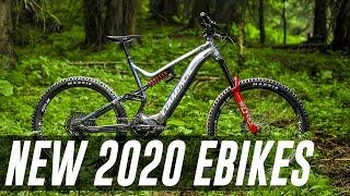 NEWEST 2020 eBikes - TEN of the latest electric mountain bikes