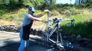 How do we clean our Specialized bicycles?