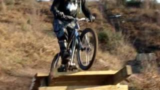 Cannock Chase Downhill Track - New Gap Jump