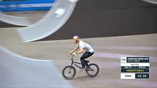 Kenneth Tencio - 1st BMX Freestyle Final - FISE European Series Madrid 2019