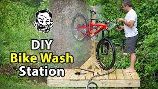 DIY Mountain Bike Wash Station