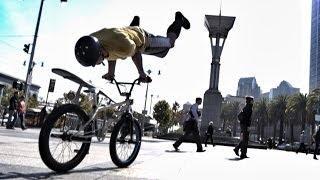 Bike Parkour -Streets of San Francisco!