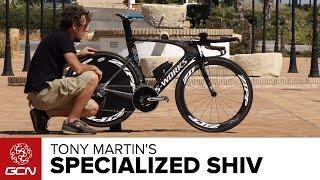 Tony Martin's Specialized S-Works Shiv | Vuelta A Espana 2014