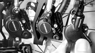 Shimano XT, SLX and Deore Brakes Compared - M615 vs M675 vs M785