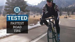 Lab Tested - What's The Fastest Road Bike Tire?